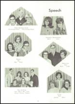 1966 Sioux Center Community High School Yearbook Page 34 & 35