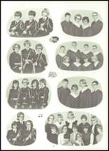 1966 Sioux Center Community High School Yearbook Page 54 & 55