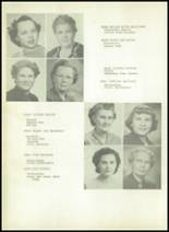 1950 Sherman High School Yearbook Page 16 & 17