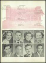 1950 Sherman High School Yearbook Page 32 & 33