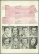 1950 Sherman High School Yearbook Page 34 & 35