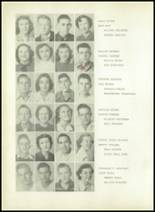 1950 Sherman High School Yearbook Page 44 & 45