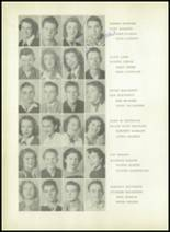 1950 Sherman High School Yearbook Page 46 & 47