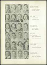 1950 Sherman High School Yearbook Page 52 & 53