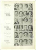 1950 Sherman High School Yearbook Page 56 & 57