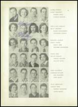 1950 Sherman High School Yearbook Page 58 & 59