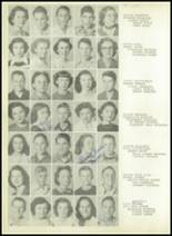 1950 Sherman High School Yearbook Page 72 & 73