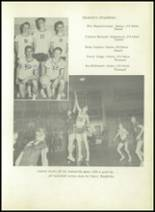 1950 Sherman High School Yearbook Page 108 & 109