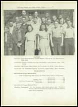 1950 Sherman High School Yearbook Page 112 & 113