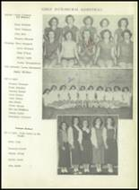 1950 Sherman High School Yearbook Page 114 & 115