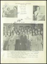 1950 Sherman High School Yearbook Page 118 & 119