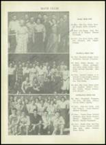 1950 Sherman High School Yearbook Page 130 & 131