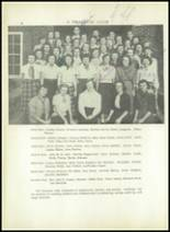 1950 Sherman High School Yearbook Page 144 & 145