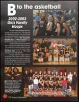 2003 Lewis & Clark High School Yearbook Page 184 & 185