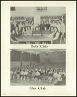1957 Cameron High School Yearbook Page 56 & 57