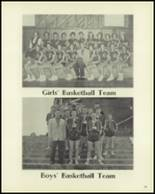 1957 Cameron High School Yearbook Page 62 & 63