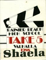 1988 Yearbook Rainier Beach High School