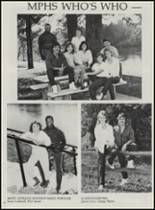 1986 Mountain Pine High School Yearbook Page 14 & 15