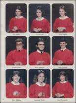 1986 Mountain Pine High School Yearbook Page 16 & 17
