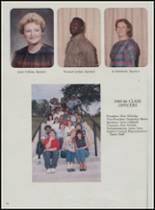 1986 Mountain Pine High School Yearbook Page 20 & 21