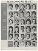 1986 Mountain Pine High School Yearbook Page 28 & 29