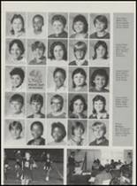 1986 Mountain Pine High School Yearbook Page 34 & 35