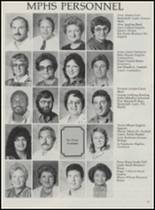 1986 Mountain Pine High School Yearbook Page 42 & 43
