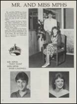 1986 Mountain Pine High School Yearbook Page 46 & 47