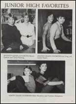 1986 Mountain Pine High School Yearbook Page 48 & 49
