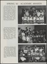 1986 Mountain Pine High School Yearbook Page 50 & 51