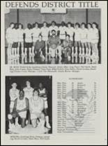 1986 Mountain Pine High School Yearbook Page 76 & 77