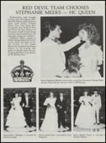 1986 Mountain Pine High School Yearbook Page 88 & 89