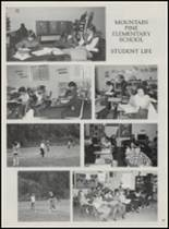 1986 Mountain Pine High School Yearbook Page 102 & 103