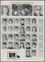 1986 Mountain Pine High School Yearbook Page 108 & 109