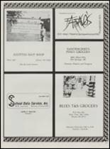 1986 Mountain Pine High School Yearbook Page 124 & 125