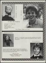 1986 Mountain Pine High School Yearbook Page 134 & 135