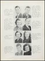 1942 Clyde High School Yearbook Page 20 & 21