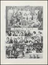 1942 Clyde High School Yearbook Page 52 & 53