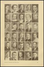 1935 Roosevelt High School Yearbook Page 28 & 29