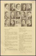 1935 Roosevelt High School Yearbook Page 32 & 33