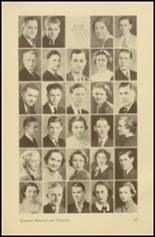 1935 Roosevelt High School Yearbook Page 34 & 35