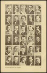 1935 Roosevelt High School Yearbook Page 36 & 37