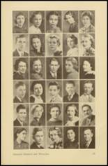 1935 Roosevelt High School Yearbook Page 38 & 39