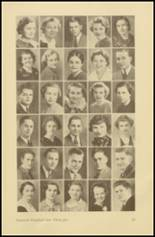 1935 Roosevelt High School Yearbook Page 40 & 41