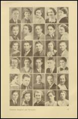 1935 Roosevelt High School Yearbook Page 44 & 45