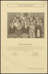 1935 Roosevelt High School Yearbook Page 58 & 59