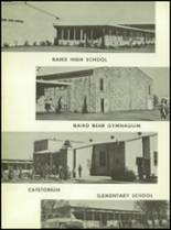1960 Baird High School Yearbook Page 14 & 15