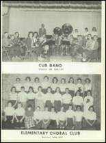 1960 Baird High School Yearbook Page 108 & 109