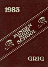 1983 Yearbook Minden High School