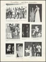 1972 San Pedro High School Yearbook Page 16 & 17